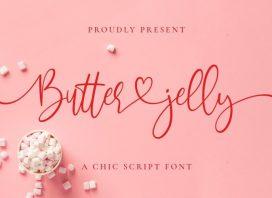 Butter Jelly Script Font