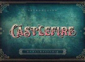 Castlefire Blackletter Font