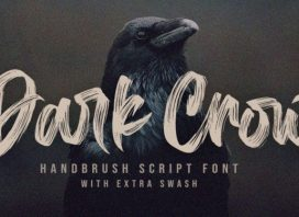Dark Crow Brush Font