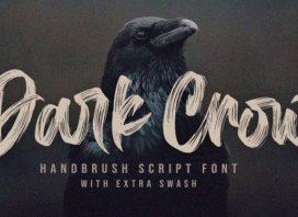 Dark Crow Brush Font