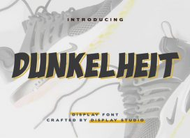 Dunkelheit Display Font