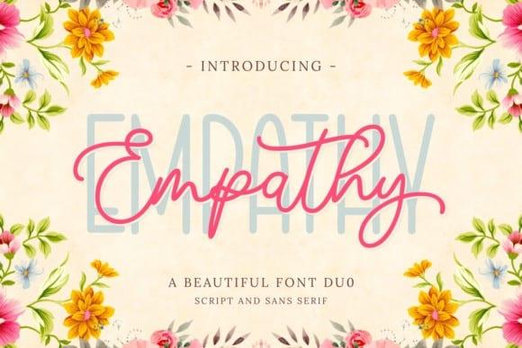 Empathy Handwritten Font