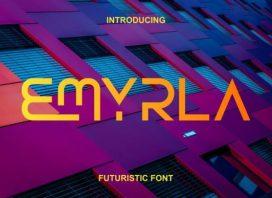 Emyrla Display Font
