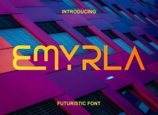 Emyrla Display Font