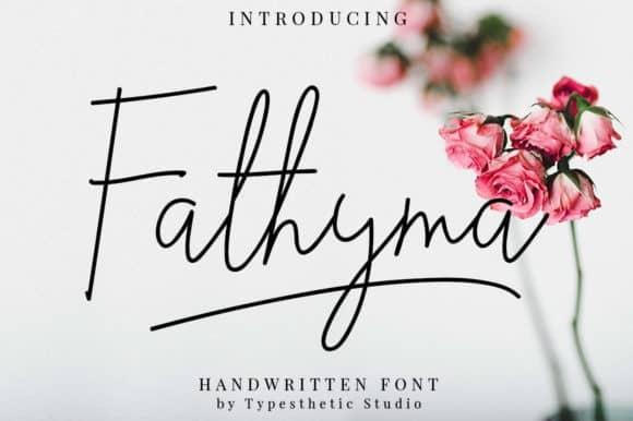 Fathyma Handwritten Font