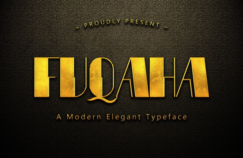 Fuqaha Display Font