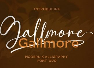 Gallmore Font Duo