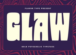 Glaw Display Font