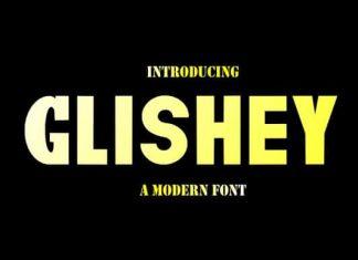 Glishey Font