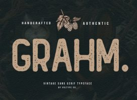 Grahm Display Font