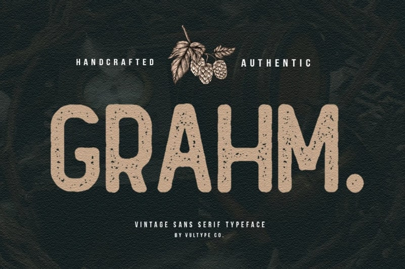 Grahm Display Font