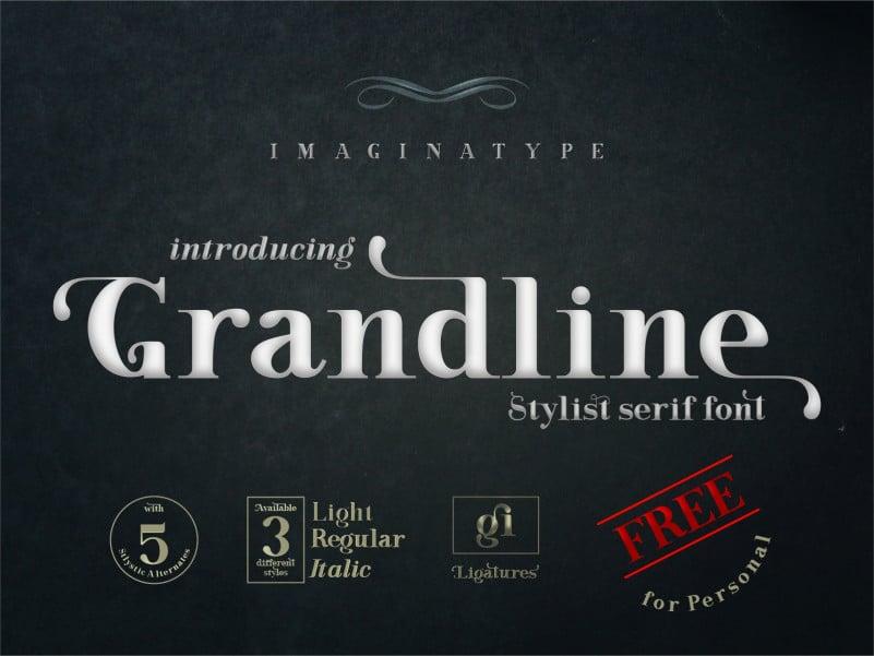 Grandline - Elegant Serif Font