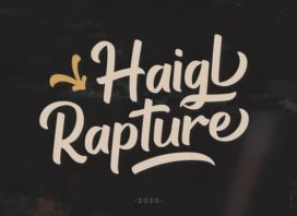 Haigl Rapture Script Font