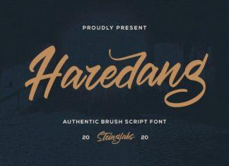 Haredang Script Font
