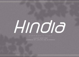 Hindia Sans Serif Font