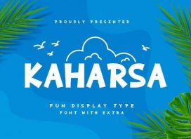 Kaharsa Display Font