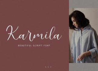 Karmila Calligraphy Font