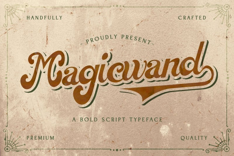 Magic Wand Script Font Befonts Com