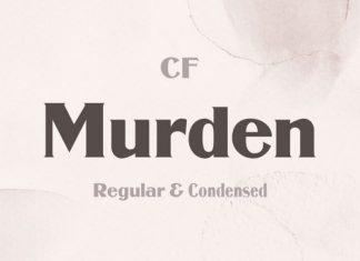 Murden Serif Font