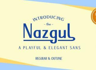 Nazgul Sans Serif Font
