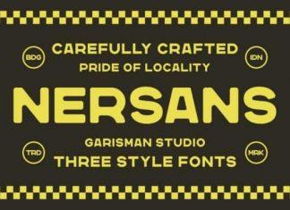 Nersans Sans Serif Font