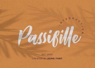 Passifille Script Font
