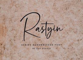 Rastyin Handwritten Font