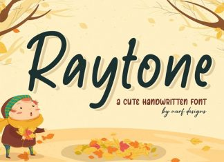 Raytone Script Font