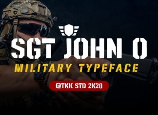 SGT Jhon O Display Font