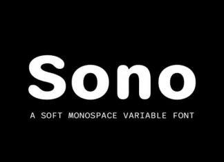 Sono Sans Serif Font
