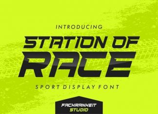 Station Of Race Display Font