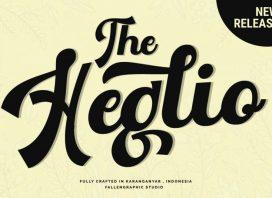 The Heglio Calligraphy Font