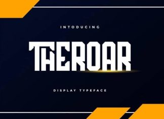 Theroar Display Font