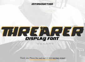 Threarer Display Font