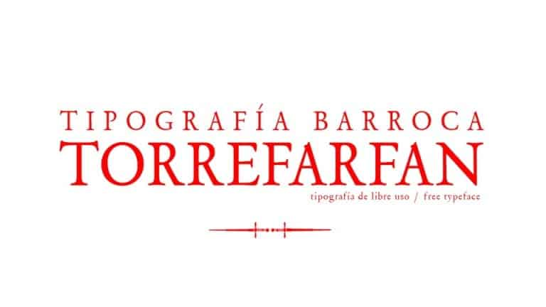 Torre Farfan Serif Font