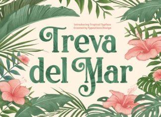 Treva Del Mar Serif Font