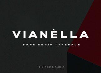 Vianella Sans Serif Font