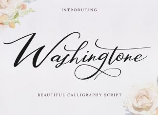 Washingtone Calligraphy Font