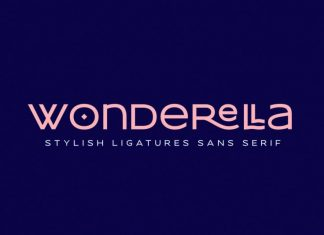Wonderella Display Font