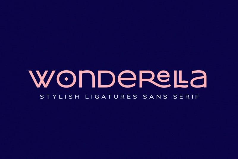 Wonderella Display Font