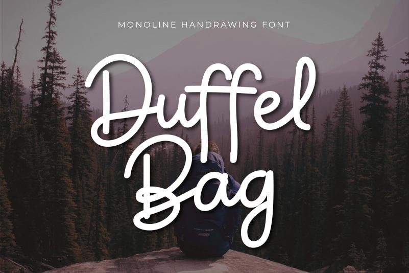 Duffel Bag Script Font