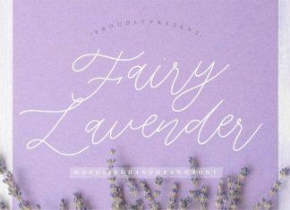 Fairy Lavender Monoline Handdraw Font