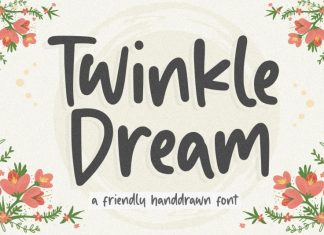 Twinkle Dream Handdrawn Font