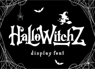 HalloWitchZ Display Font