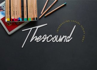 Thescound Handwritten Font