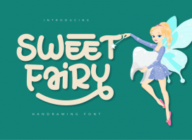 Sweet Fairy Display Font