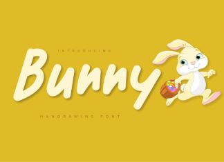 Bunny Display Font