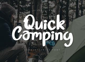 Quick Camping Script Font
