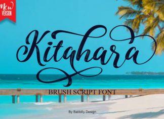 Kitahara Brush Script Font