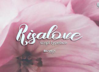 Risalove Script Font
